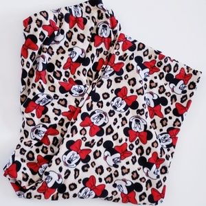 DISNEY MINNIE MOUSE PAJAMA BOTTOMS 3x